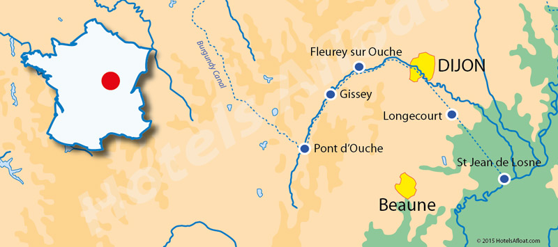 Cruise map for Apres Tout