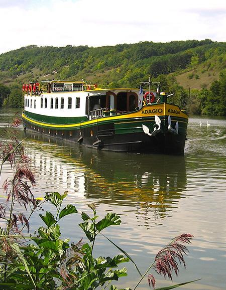Adagio hotel barge
