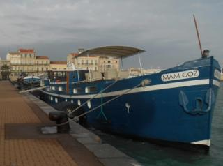 Mam Goz moored in the South of France