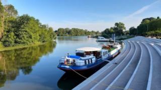 River Saône mooring