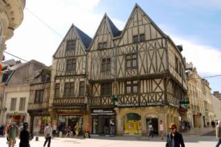 Historical Dijon streets
