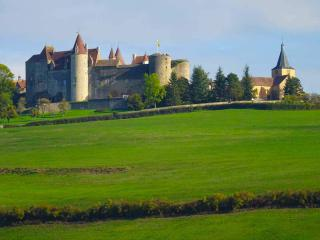 The magnificent Chateauneuf in Burgundy
