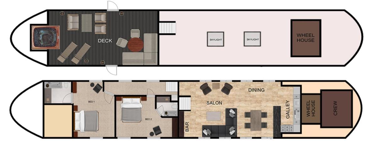 Rendez-Vous deck plan