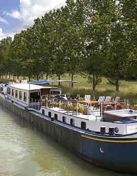Hotel barge L'Impressioniste