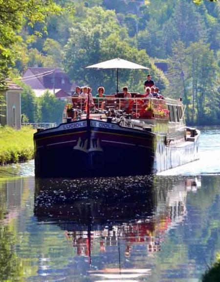 Barge cruise Luciole