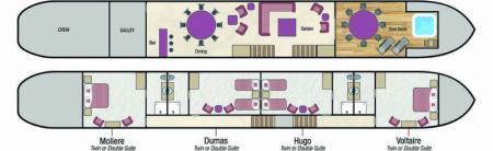 Renaissance deck plan