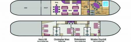 Magna Carta deck plan