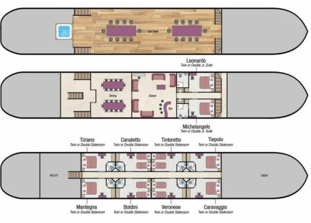 La Bella Vita deck plan