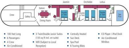 Clair de Lune deck plan