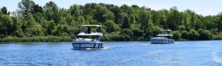 Le Boat rental boats