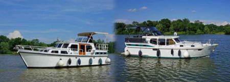 Saone Bateaux rental boats