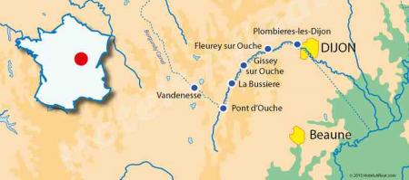 The Valley Ouche map