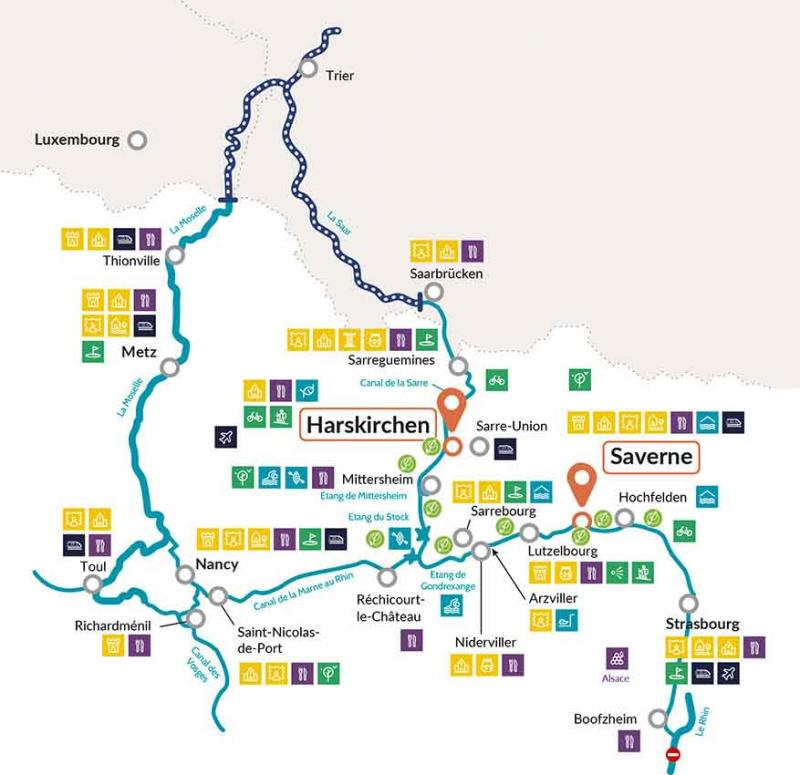 Nicols Alsace map