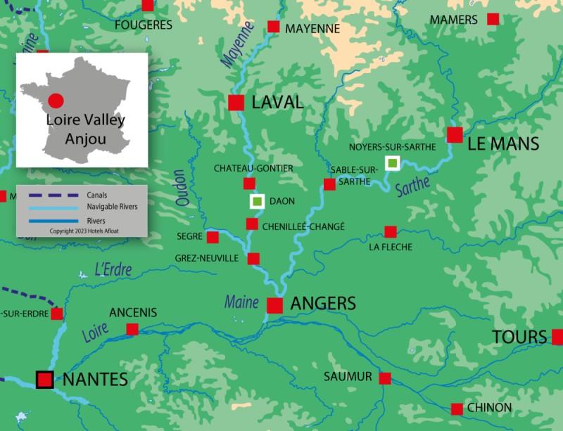 France Passion Plaisance Anjou map