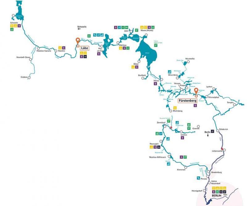 Nicols Germany map