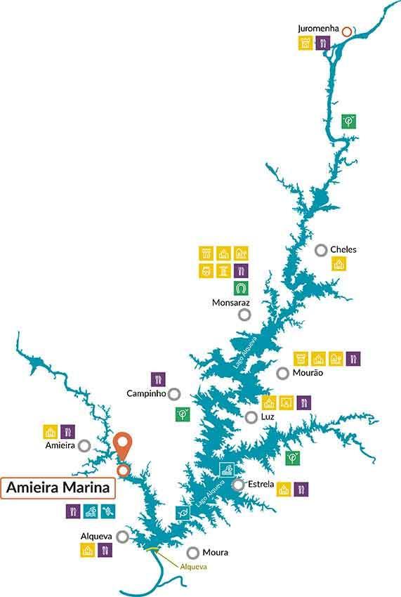 Nicols Portugal map