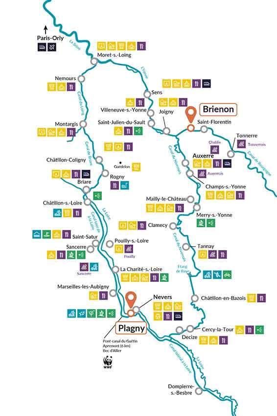 Loire & Briare canals