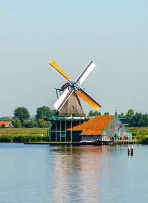 Bruges to Haarlem