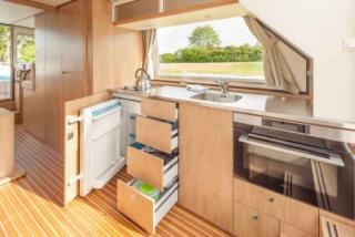 Well-equipped galley