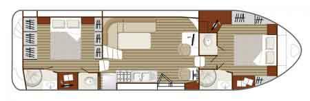 Boat plan Nicols N1350VIP Nicols