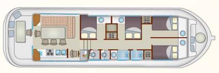 Boat plan Locaboat P1500 R Locaboat
