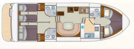 Boat plan Locaboat Europa 600 Locaboat