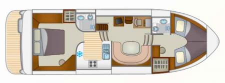 Boat plan Locaboat Europa 400 Locaboat