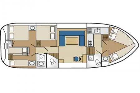 Boat plan France Passion Plaisance Tarpon 42 France Passion Plaisance