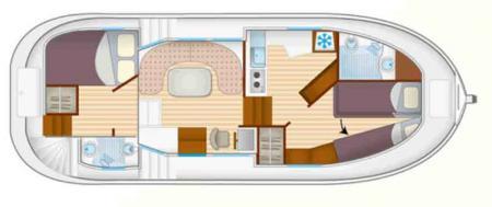 Boat plan Locaboat P1020 FB Locaboat