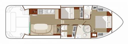 Boat plan Nicols N SIXTO Green Nicols