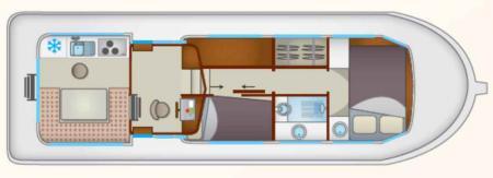 Boat plan Locaboat P1106 FB Locaboat