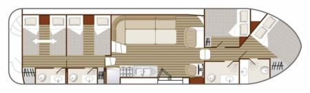 Boat plan Nicols N1350 B Nicols