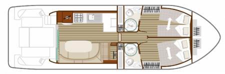 Boat plan Nicols N QUATTRO FLY C Nicols