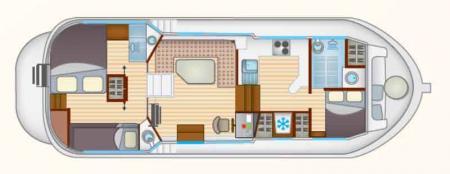 Boat plan Locaboat P1165 FB Locaboat