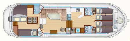 Boat plan Locaboat P1400 FB Locaboat