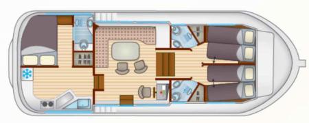 Boat plan Locaboat P1180 FB Locaboat