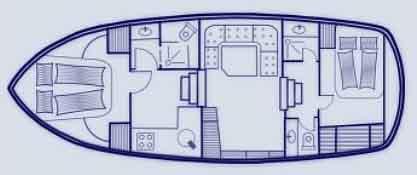 Boat plan Saone Bateaux BWS Cruiser 1150 Saone Bateaux