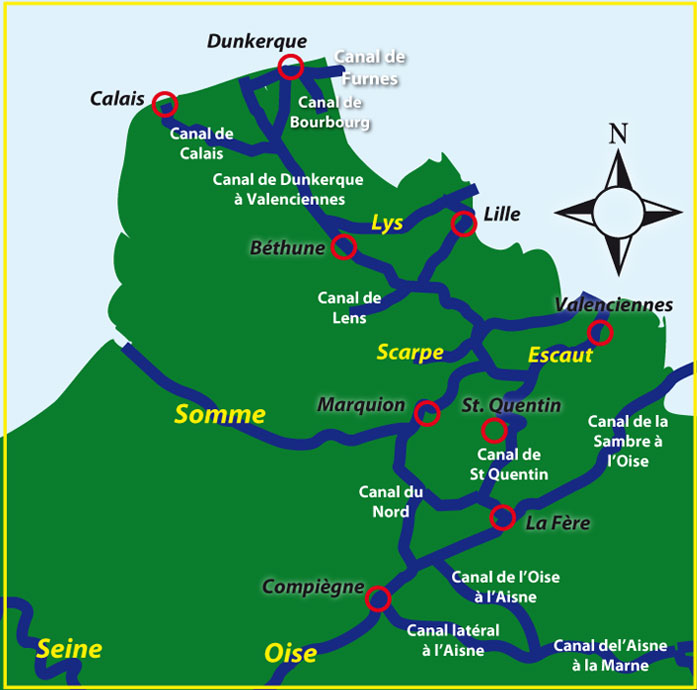 Map Of France In English.Map Of The English Channel And French Coast