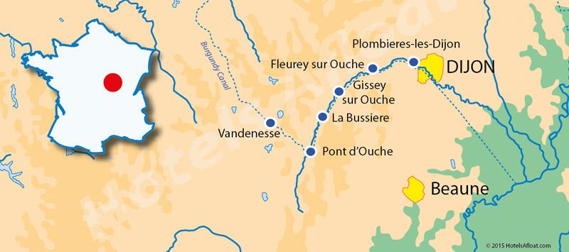 Cruise map for Prosperite