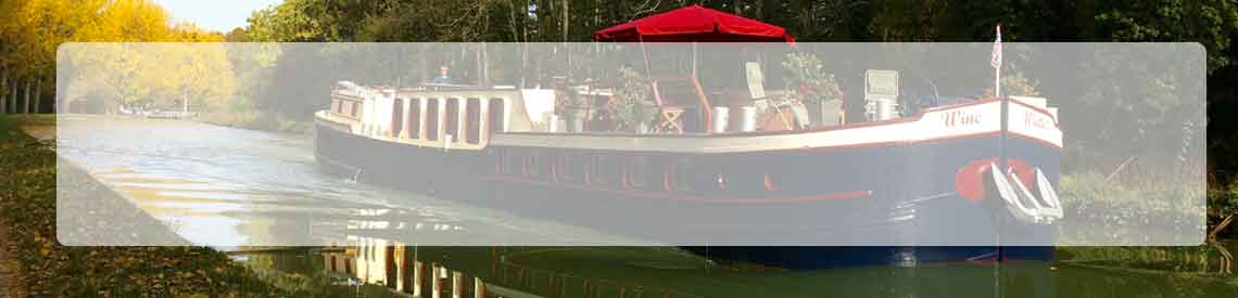Luxury hotel barges